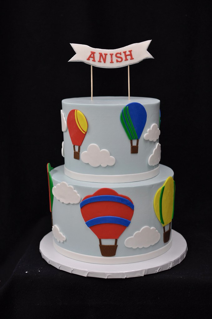 Hot Air Balloon Birthday Cake Jenny Wenny Flickr