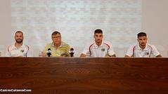 Catania: presentati Bogdan, Curiale ed Esposito