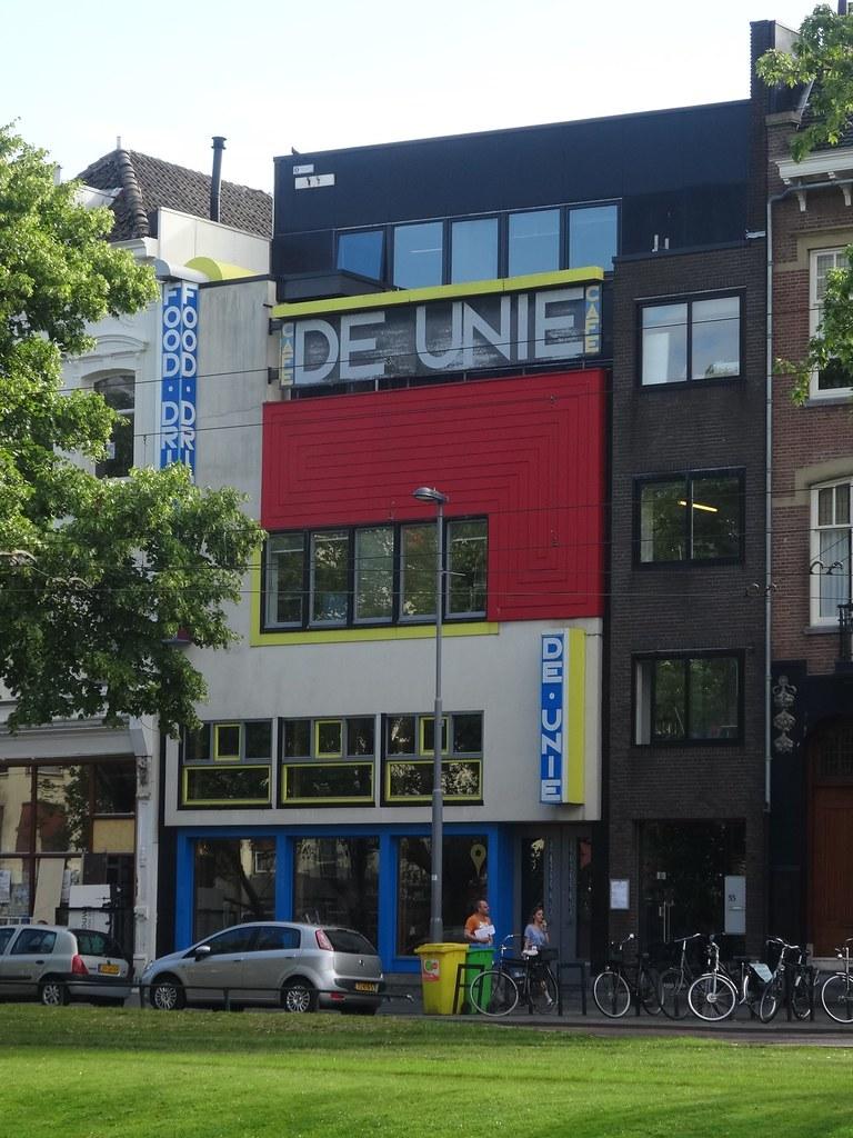 Bedwelming Rotterdam: Café De Unie | The original café De Unie was desi… | Flickr #OD88
