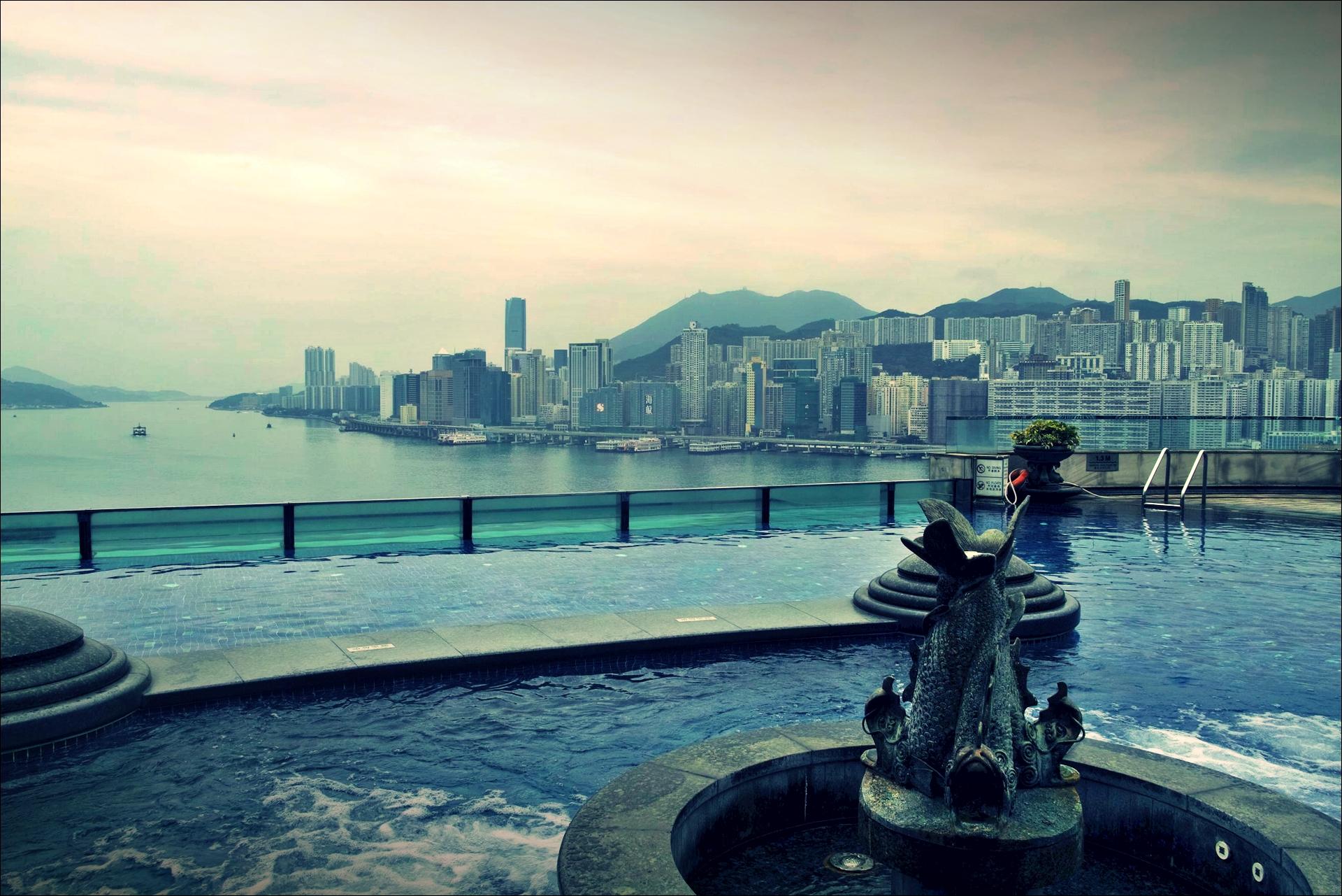 수영장-'하버 그랜드 구룡 호텔, 홍콩 (Harbour Grand Kowloon, Hongkong)'
