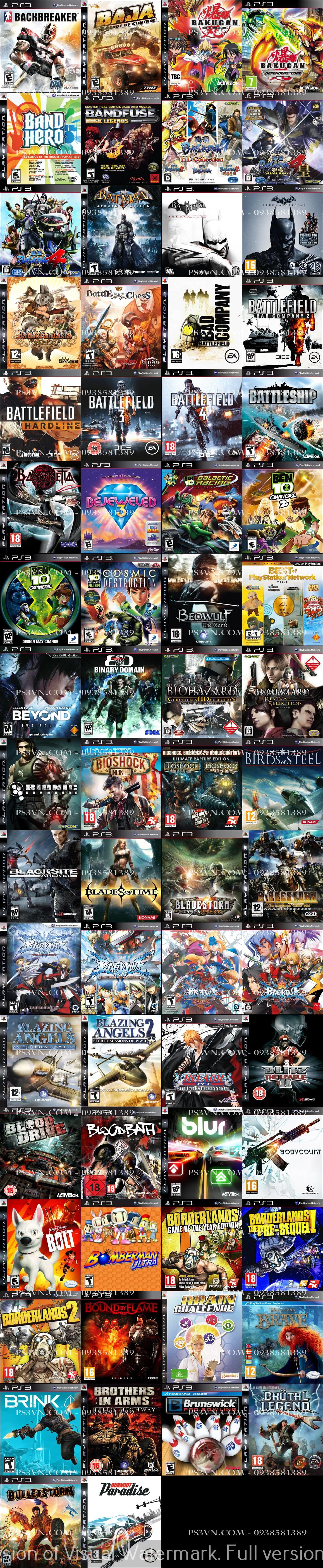 Chép Game PS3 tại nhà giá rẻ nhất TPHCM - PS3VN.COM - 5