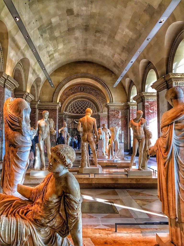Paris France Louvre Museum Department Of Greek Etrusca