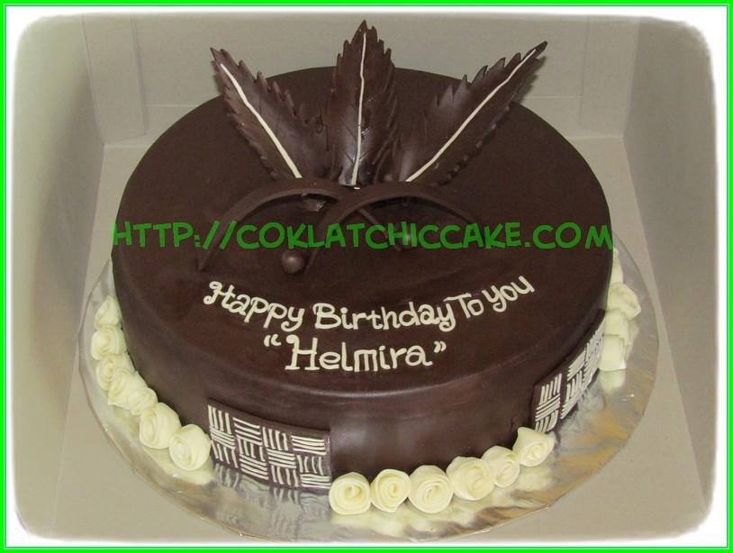 Cake Coklat Niken Idh Flickr