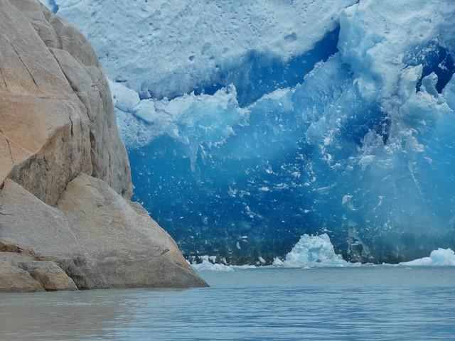 Pared glaciar de Qaleraliq (Sur de Groenlandia)
