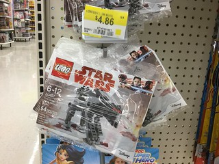 The Last Jedi set found in Canada