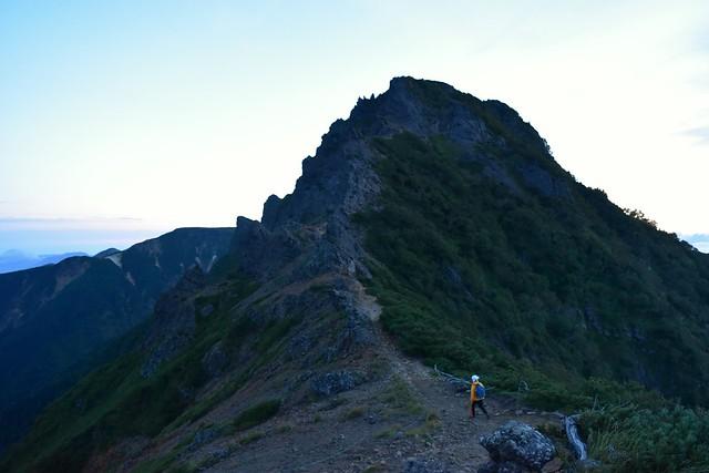 八ヶ岳登山 地蔵尾根から横岳へ