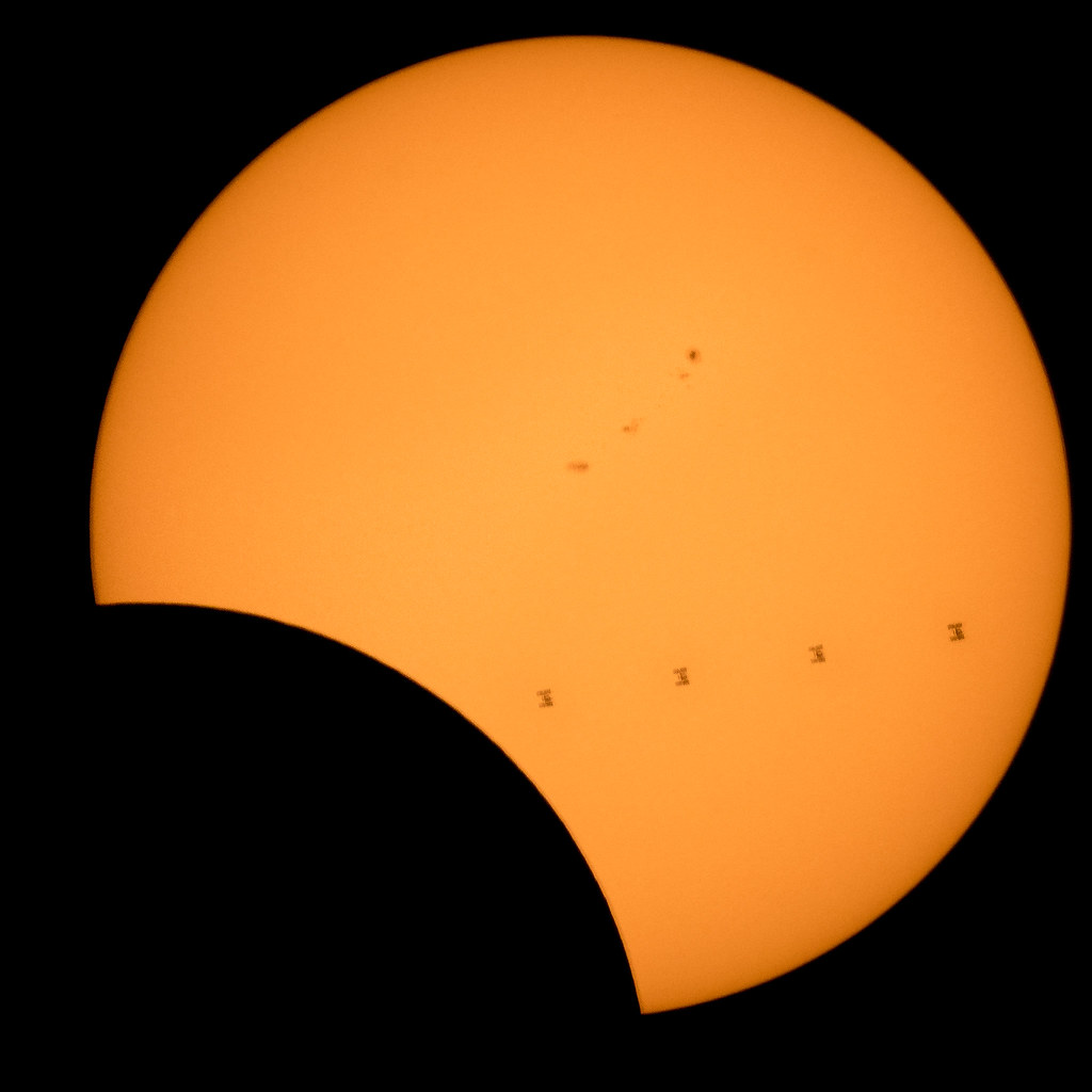 Solar For America >> 2017 Total Solar Eclipse - ISS Transit (NHQ201708210304) | Flickr
