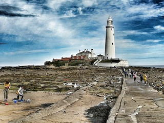 St Marys lighthouse Whitley Bay. | by grizlydog1