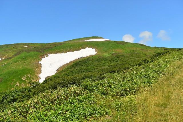月山 リフトから見る姥ヶ岳