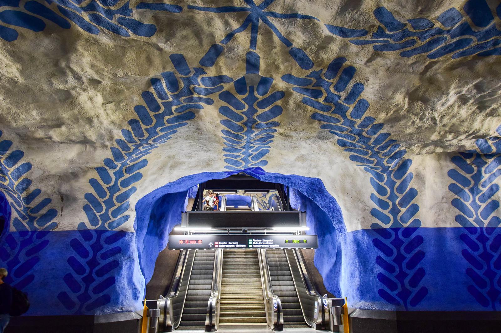 Stockholm subwayart