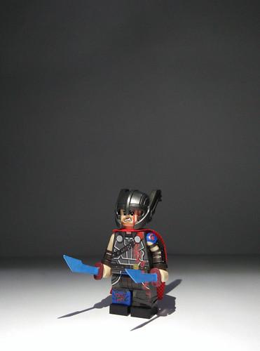 lego thor ragnarok gladiator thor biao custom flickr