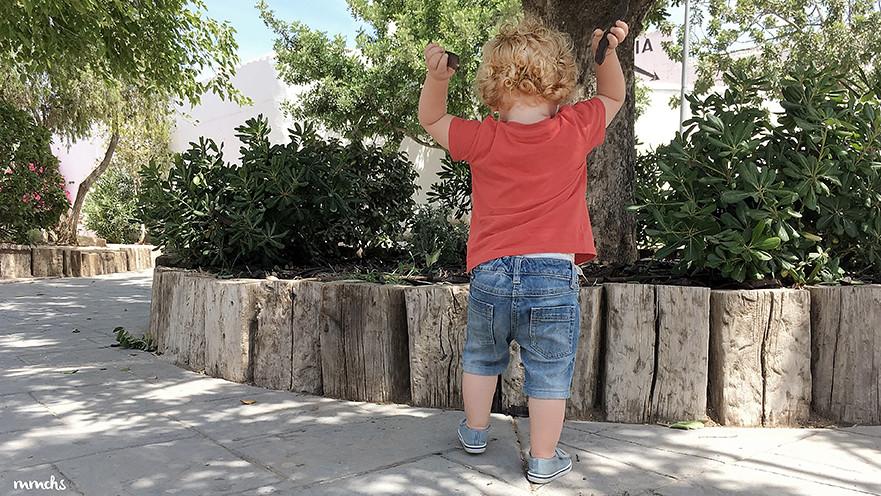 perder de vista a un niño