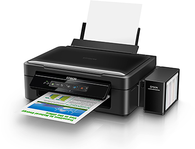 Unlike the new integrated ink tank printers, the new L405 (S$329) retains the external ink tank design of Epson's existing ink tank printers, resulting in a larger footprint.