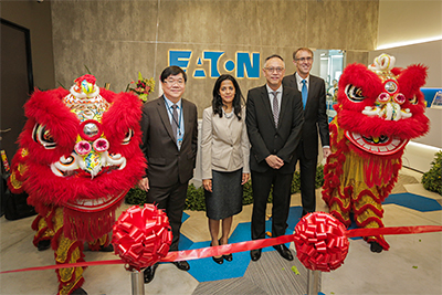 Eaton's new office and Customer Experience Center in Singapore is located in the Interlocal Centre.