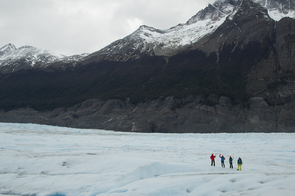 Ice-Hiking on Grey Glacier (Torres del Paine National Park)