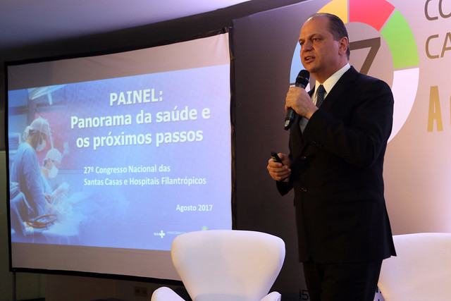 Congresso Nacional das Santas Casas e Hospitais Filantrópicos. Brasília, 15/08/2017. Foto: Rodrigo Nunes/MS   por Ministério da Saúde