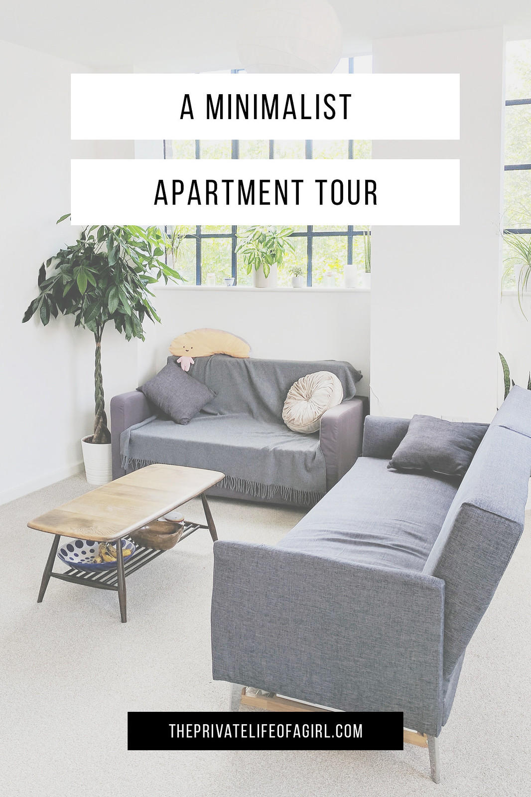 A Minimalist Apartment Tour