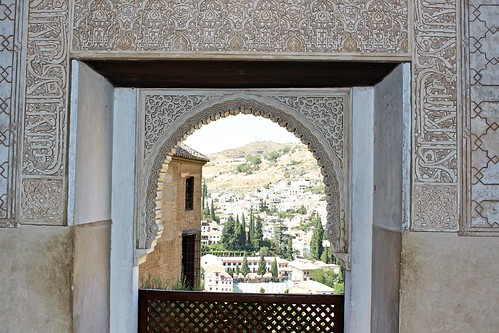 Alhambra window | by sandrakaybee