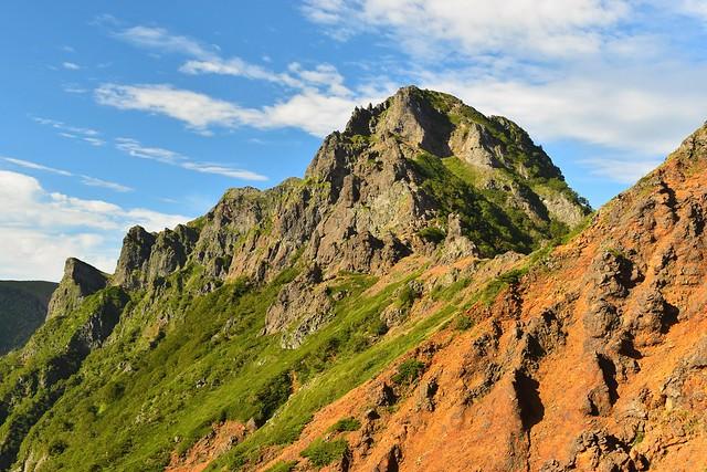 八ヶ岳・地蔵尾根からの横岳
