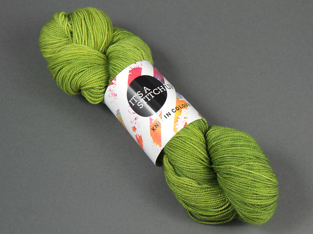 Favourite Sock – hand-dyed superwash merino 4 ply yarn 'Ectoplasm'