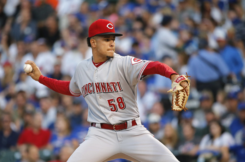紅人年輕新秀Luis Castillo。(達志影像)