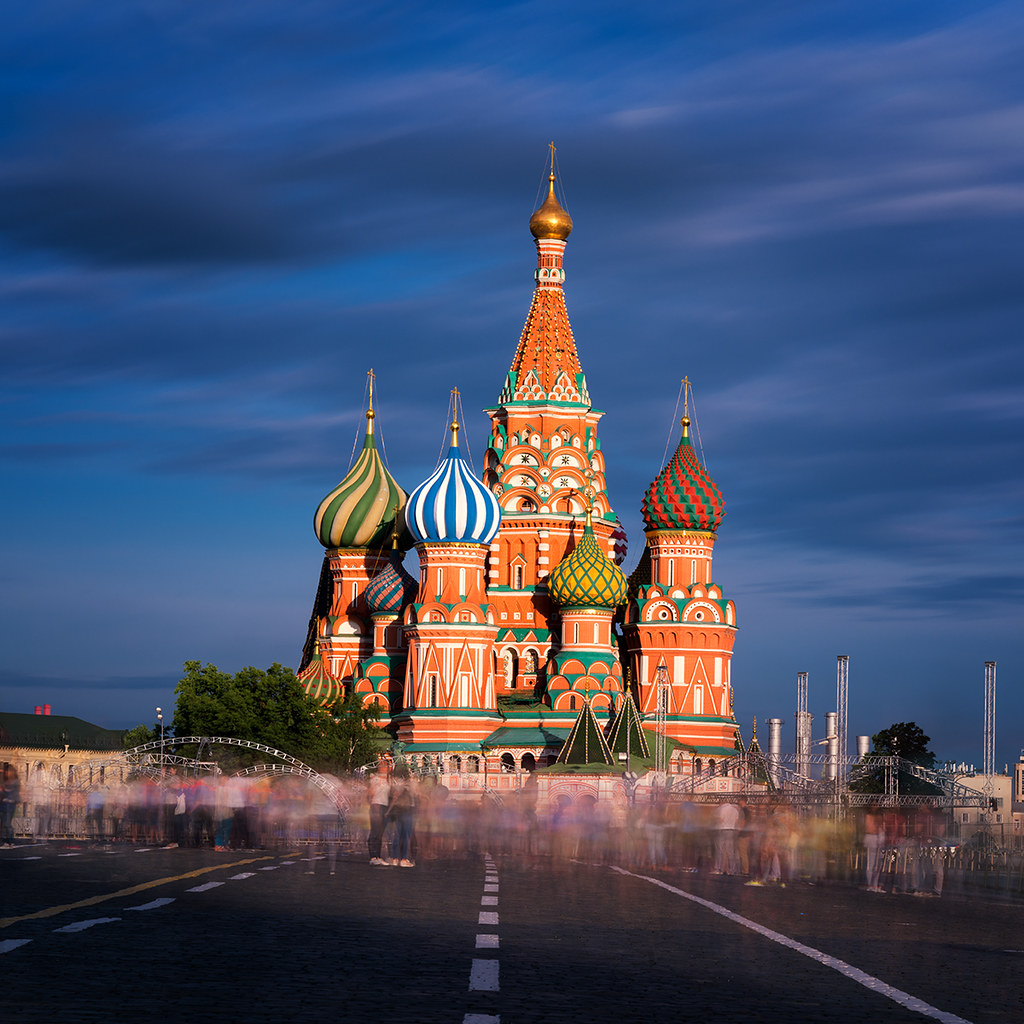 Tetris | Saint Basil\u0027s Cathedral, Red Square, Moscow, Russ\u2026 | Flickr