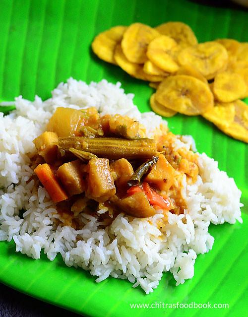 Kerala onam sadya sambar