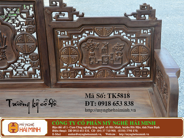 TK5818g   Bo Truong Ky co do    do go mynghehaiminh