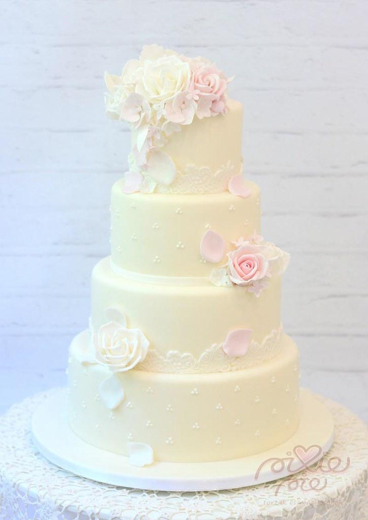 esküvői torta Vintage esküvői torta | Pixie Pie | Flickr esküvői torta