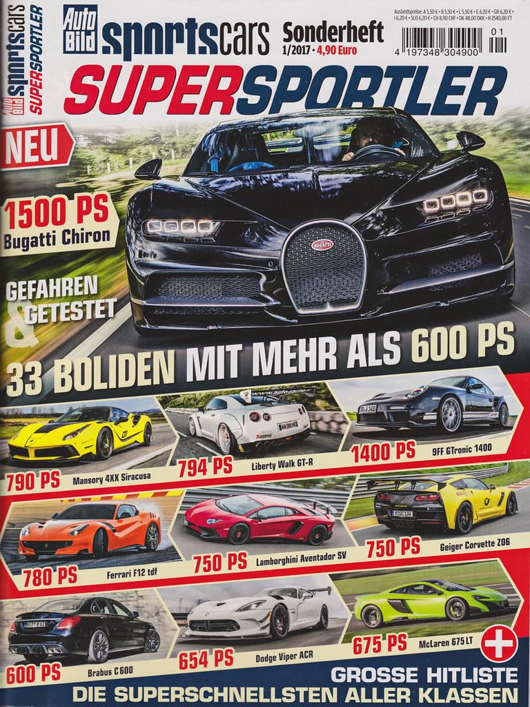 Auto Bild Sportscars - Supersportler - 2017 - cover | Flickr