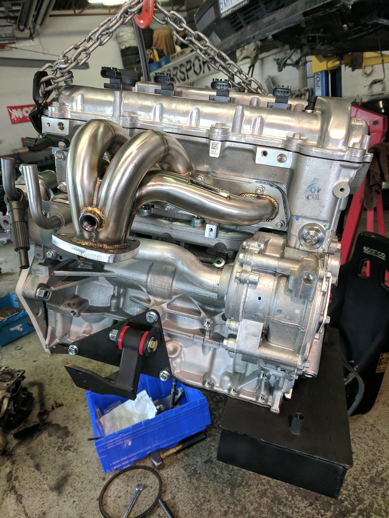 Na Turn Key Ecotecmiata 24 Engine Build With New Factory Gm Miata Slave Cylinder Diagram That Header Should Look Mighty Fine In The Compartment While Providing A Few Extra Ponies