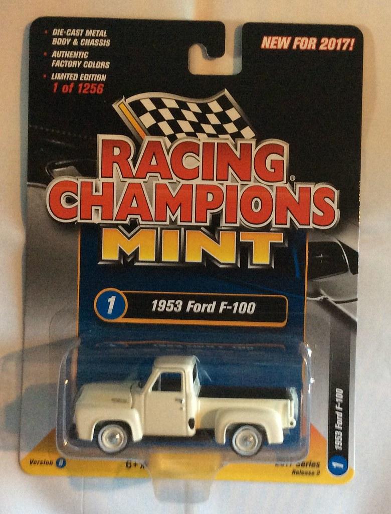 Racing Champions Mint Rc004 Series 2 Version B 1953 Ford F100 1951 F1 Pickup Truck