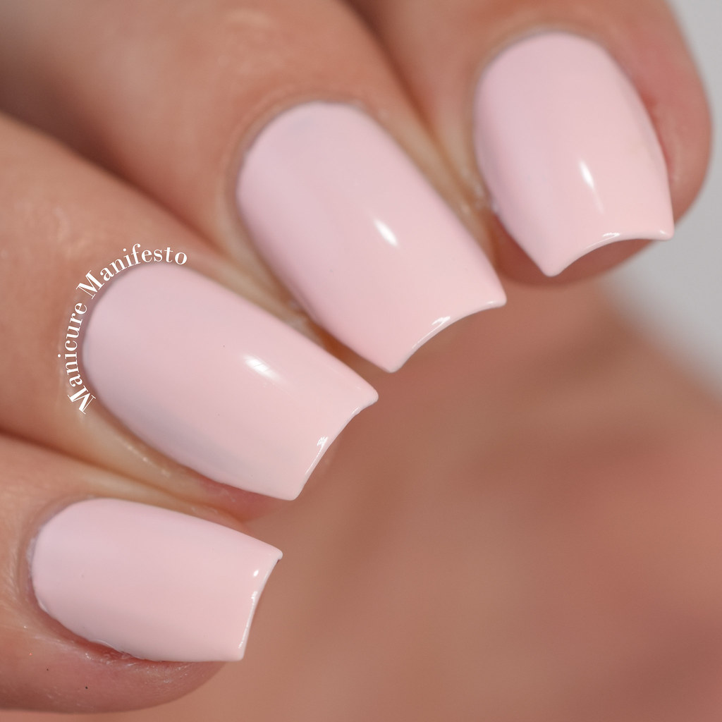 Mary Kay Pink Escape nail polish swatch