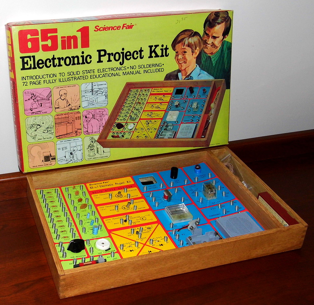 Electronics Project Kit Designed Learn Medical Snap Circuits Pro 500in1 Experiments Click To Enlarge Vintage Science Fair 65 In 1 Electronic By Radio Shack Catalog No