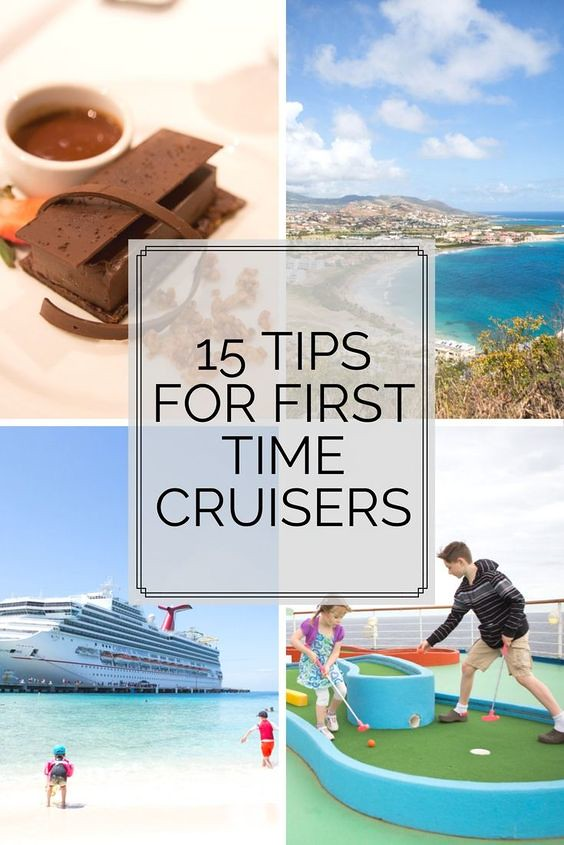 Tips for first time cruisers. From what to pack to what you should do when you first arrive, this will help you on your cruise!