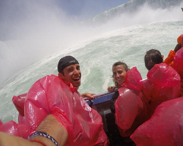 En el barco Hornblower, una de las mejores cosas que hacer en Niagara