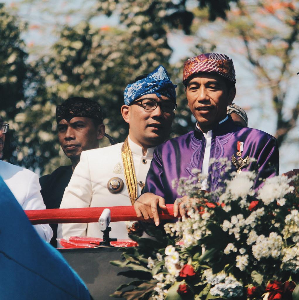 Jokowi dan Ridwan Kamil