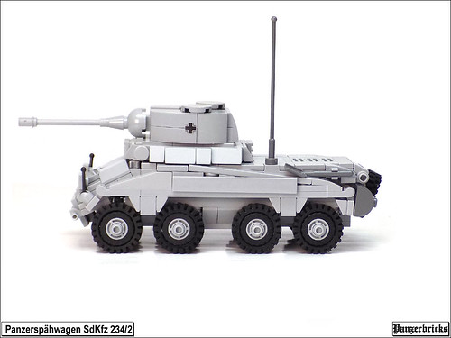 Schwerer Panzerspähwagen (5cm) SdKfz 234/2 de Panzerbricks