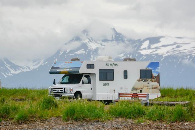 Nuestra autocaravana en Alaska