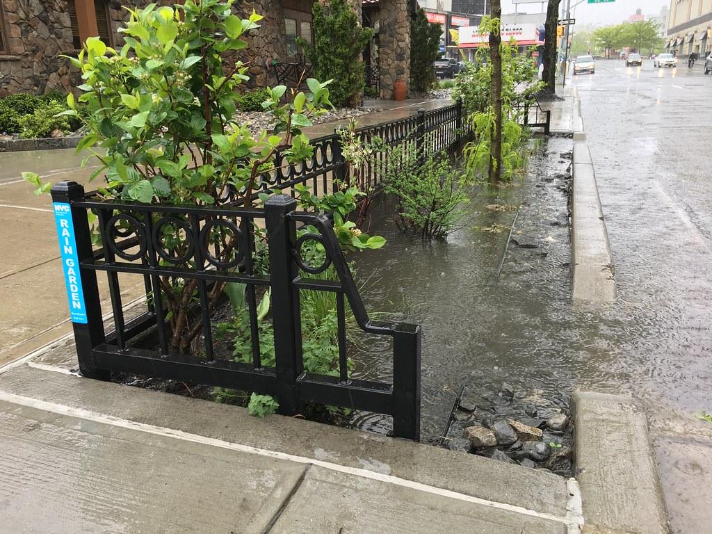 ... Rain Garden Construction: Flushing, Queens | By NYC Water