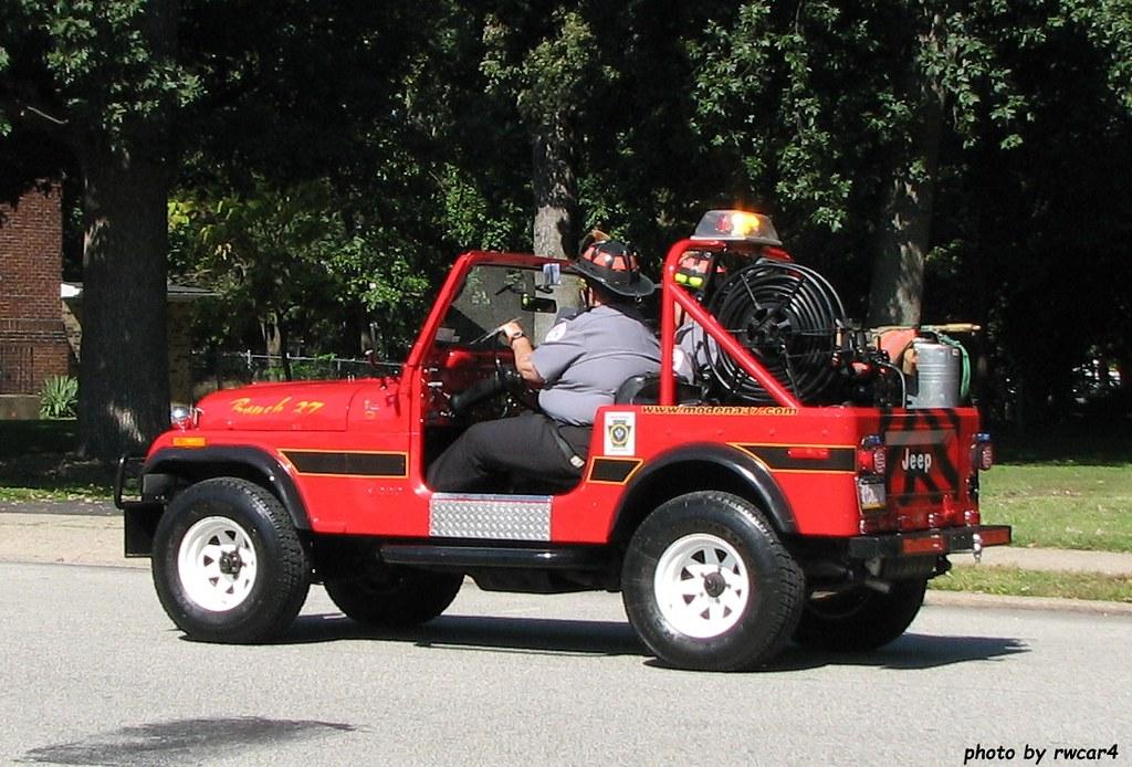 Modena PA Fire Co - Brush 37 - 1977 Jeep CJ-7 (2) | rwcar4 | Flickr