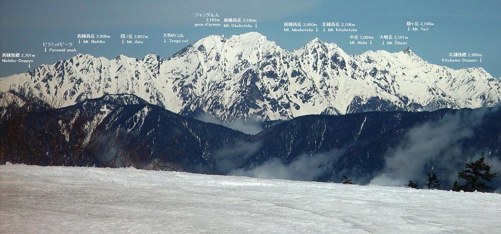Field Report: Mt. Hotaka 36931439791_44d208a92b_b