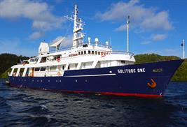 Solitude One liveaboard palau