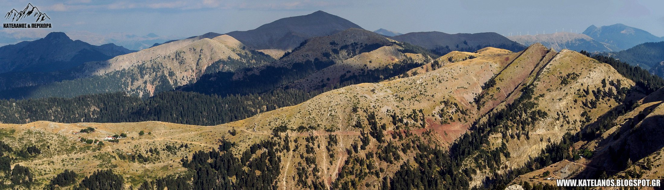 ανατολικο παναιτωλικο βουνα κορυφες