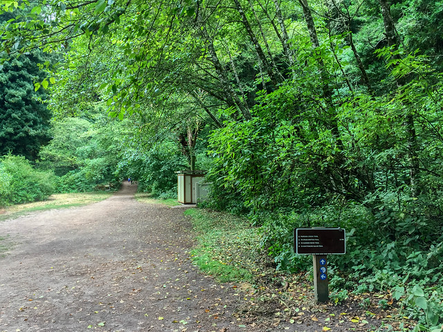 Trailhead and Restroom