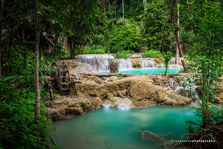 Kuang Si Waterfalls | by reubenteo