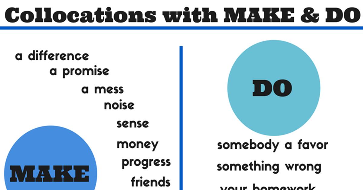 Common English Collocations 5
