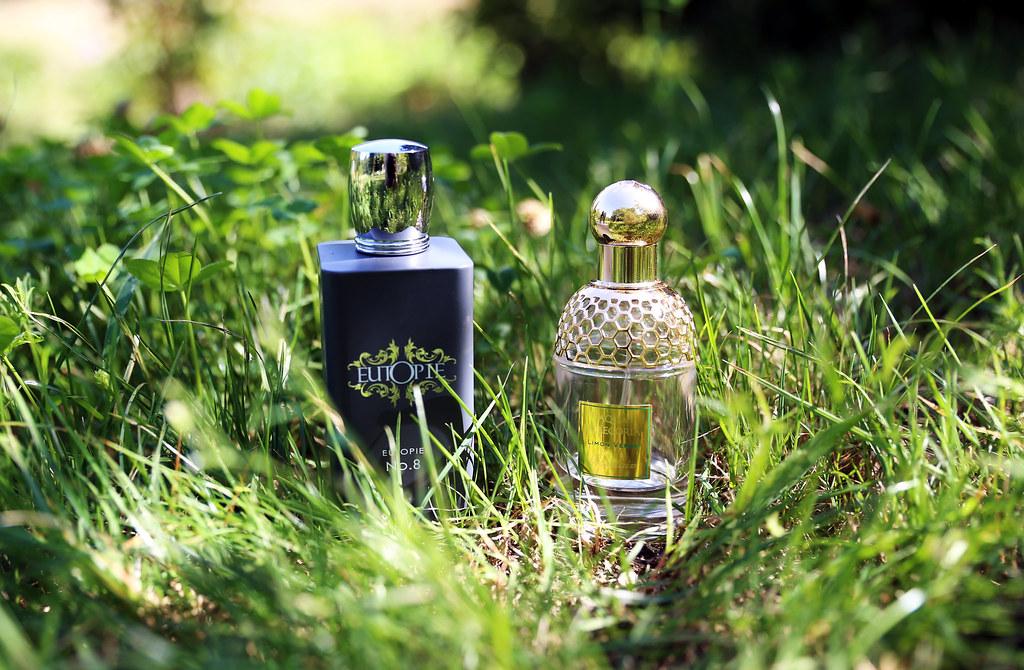 Perfumy Eutopie No. 8 oraz Guerlain Limon Verde