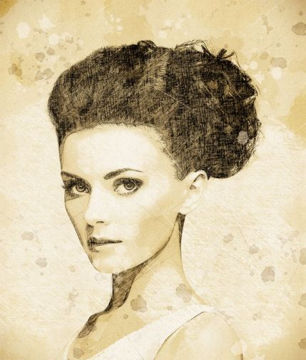 Vintage Sketch Photoshop Action