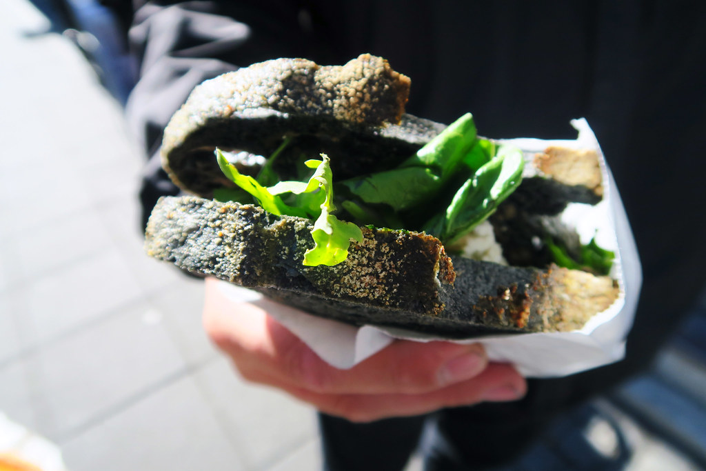 Sandwich from the Sandholt Bakery, Reykjavik